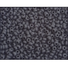 Seedbead 8/0 Opaque Matte Black